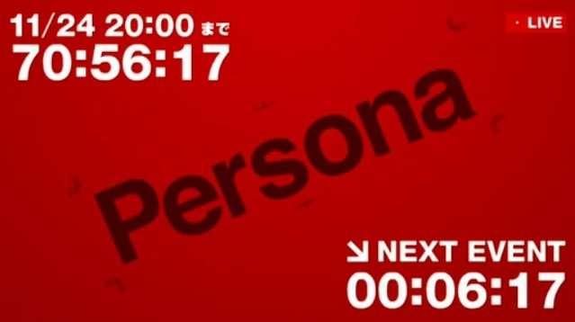 Persona Countdown